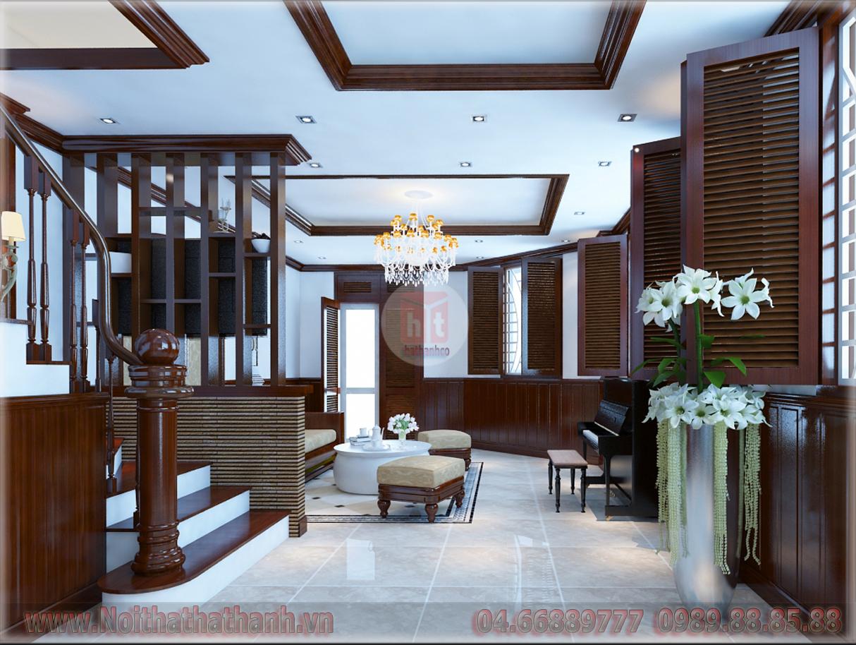 Nội thất Hà Thành cung cấp dịch vụ thi công thiết kế nội thất biệt thự