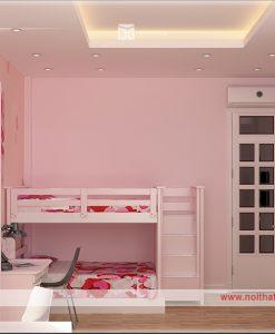 thiết kế nội thất phòng gnur cho bé gái
