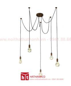 đèn dây chuyền trang trí hiện đại - 5 bóng