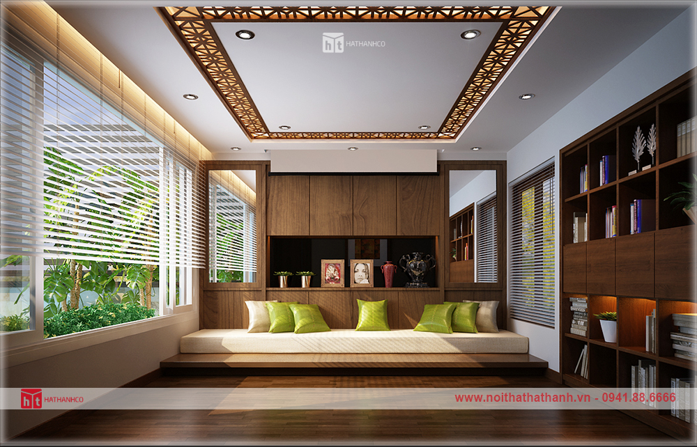 thiết kế nội thất biệt thự đẹp 9