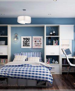 Thiết kế phòng ngủ cho người mệnh kim 3