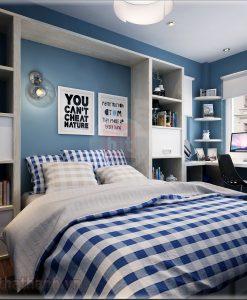 Thiết kế phòng ngủ cho người mệnh kim 4