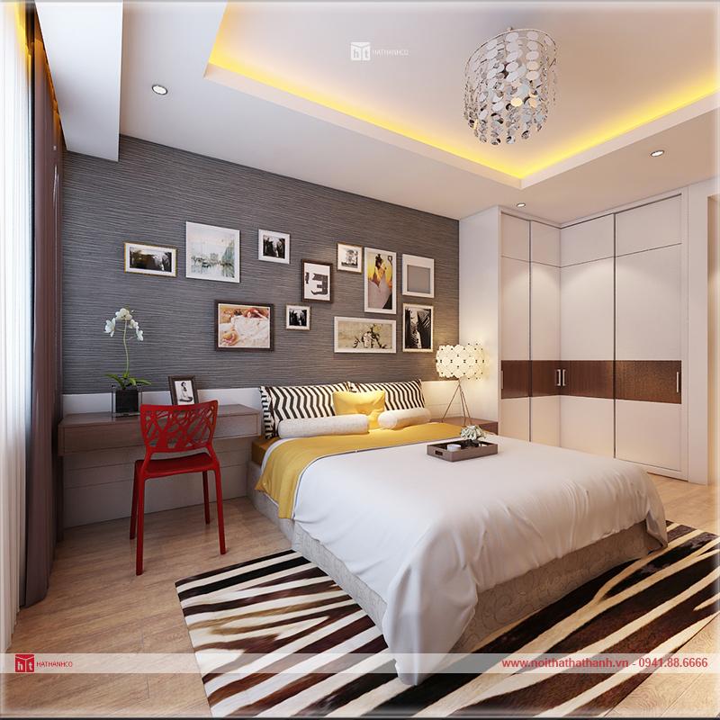 thiết kế nội thất nhà chung cư Hà nội 6
