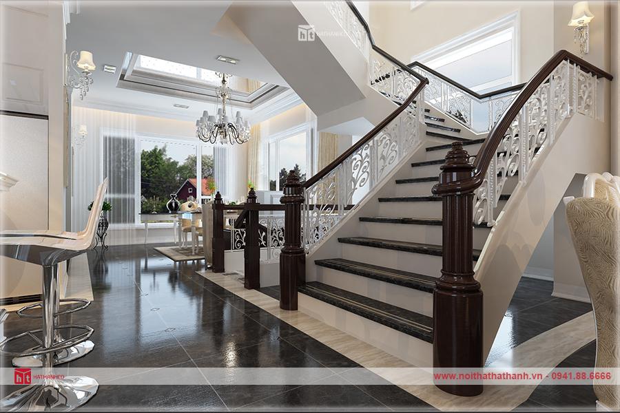 thiết kế nội thất nhà 3 tầng đẹp 3