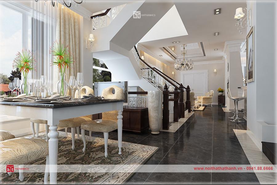 thiết kế nội thất nhà 3 tầng đẹp 4
