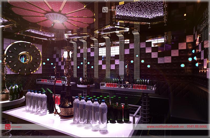 Thiết kế thi công quán karaoke