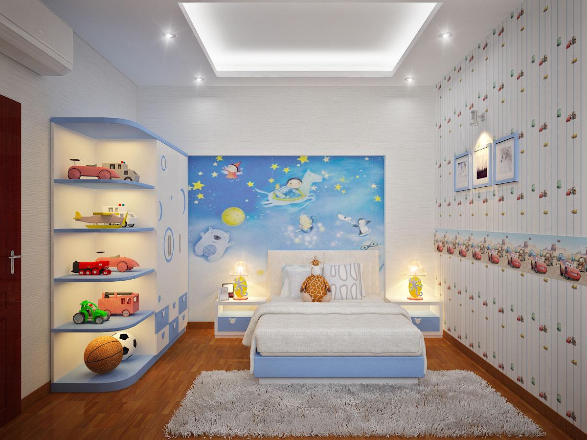Kết quả hình ảnh cho cách làm phòng ngủ cho bé trai
