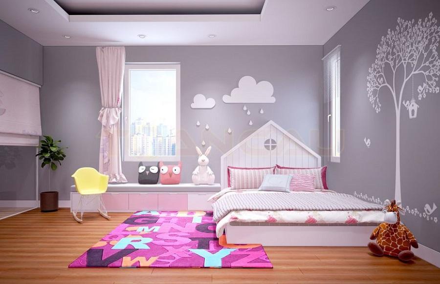 Không gian mới lạ, ấn tượng - thiết kế nội thất phòng ngủ