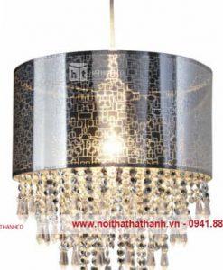đèn chùm pha lê màu tối (1)