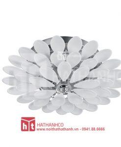 đèn áp trần hình hoa