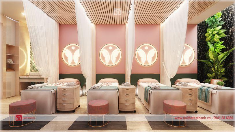 thiết kế spa chuyên nghiệp
